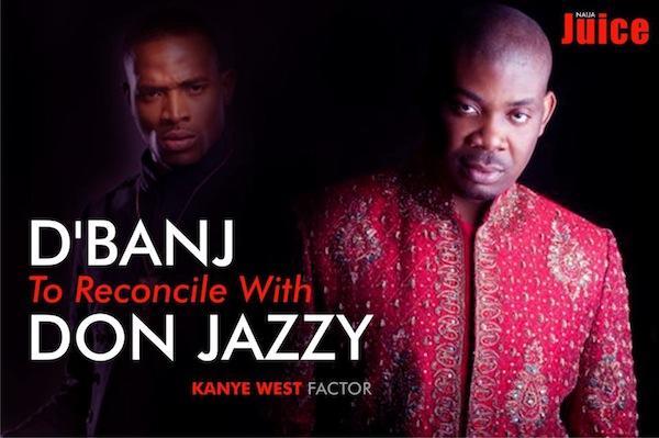 Photo of Kanye West ajaribu kuwasuluhisha D'Banj na Don Jazzy