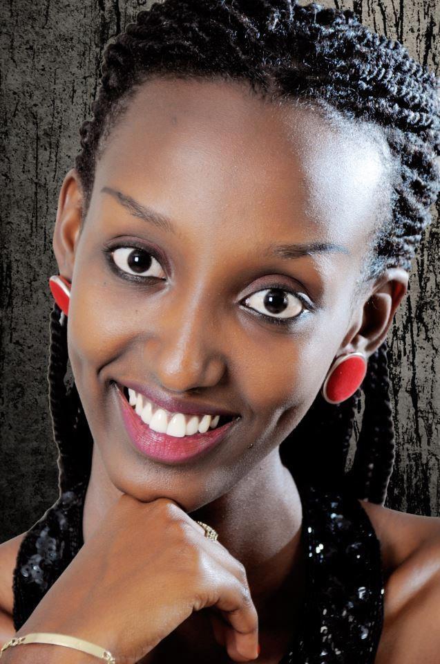 Mwakilishi wa Burundi Ariella Kwizera
