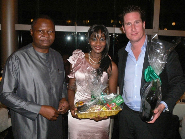 Uche Unigwe-Tanzania Country Manager, Fey Gwendolene Bananuka – Hassan – Trade Marketing Consultant Tanzania and Koen Morshuis-General Manager East Africa.