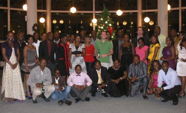 Heineken Tanzania Team in a group photo