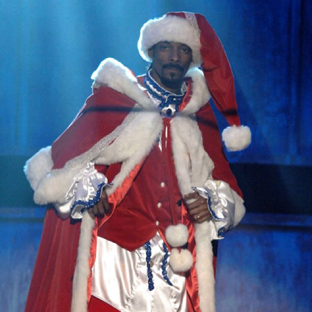 Snoop kama Santa