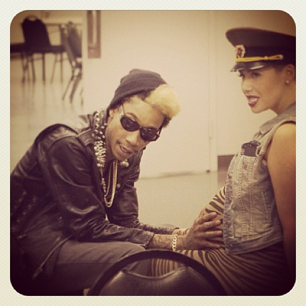 Wiz Khalifa na Amber