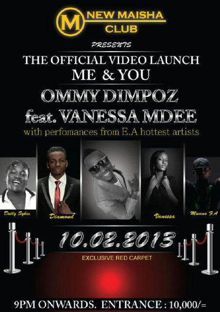 Ommy Dimpoz Ft Vanessa Mdee - Me and You ( Official Video ...