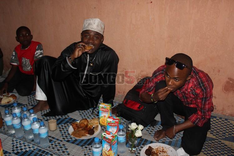 Ommy Dimpozi akiwa na Ramso Nnauye