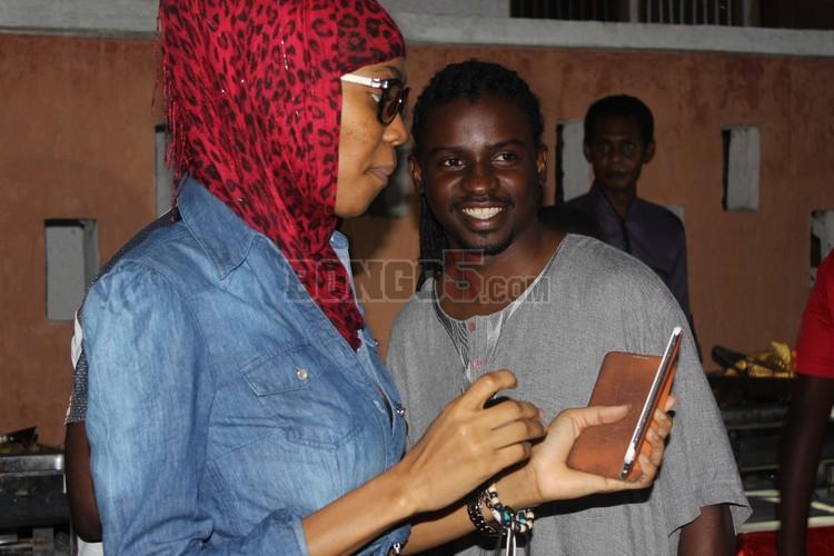 Salma Mzirai akiwa na Petit