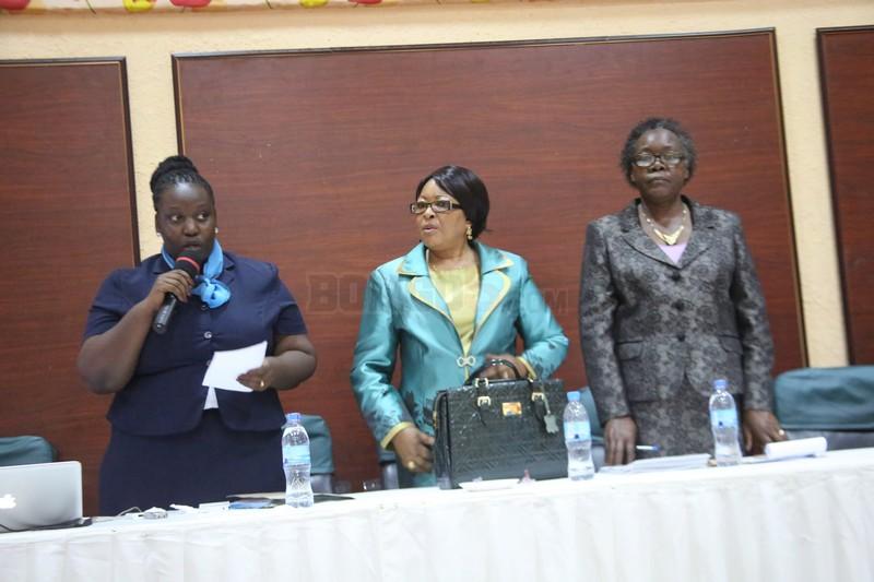 Afisa Mtendaji Mkuu wa Chama cha Hakimiliki Tanzania(COSOTA) Doreen Anthony Sinare akiongea jambo