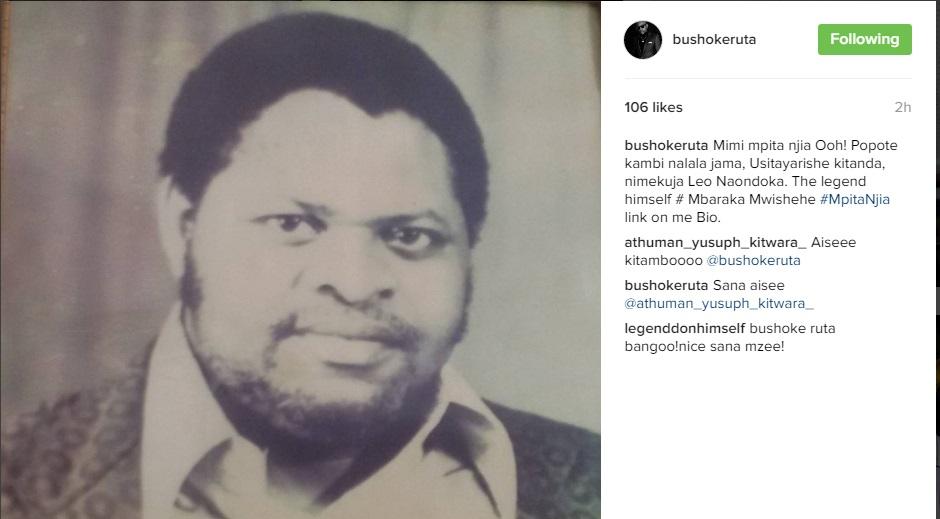 Bushoke aeleza alivyomuenzi Mbaraka Mwishehe kwenye