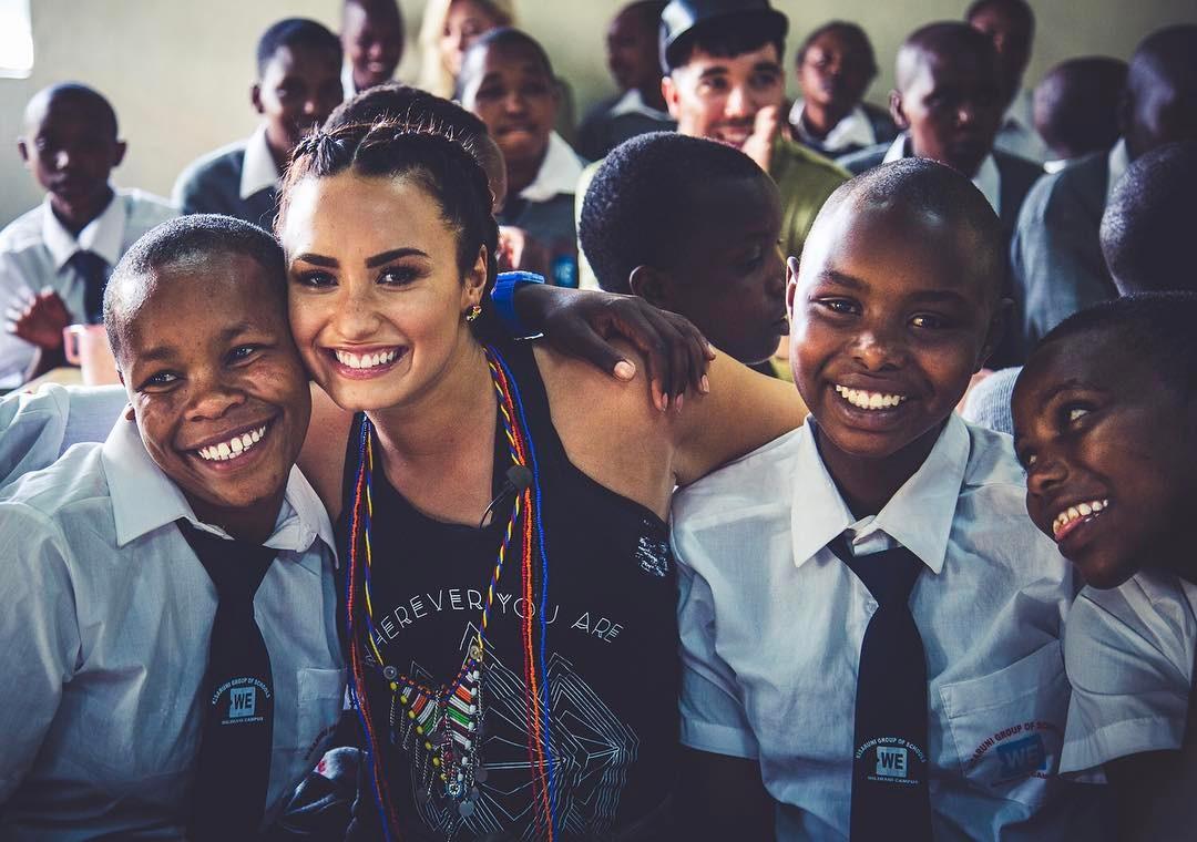 Photo of Picha za staa wa Marekani Demi Lovato alipoitembelea Kenya