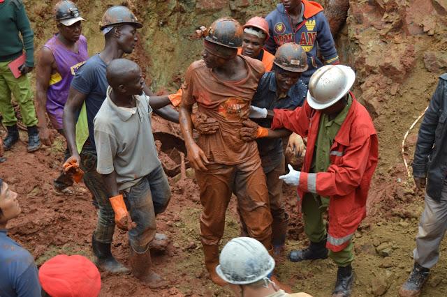 Photo of Picha: Jinsi wachimbaji 15 walivyokikwepa kifo baada ya kufukiwa kwa siku 4 kwenye kifusi mgodini Geita