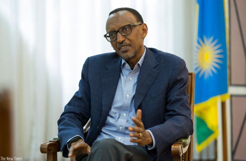 Photo of Kagame atangaza kung'atuka