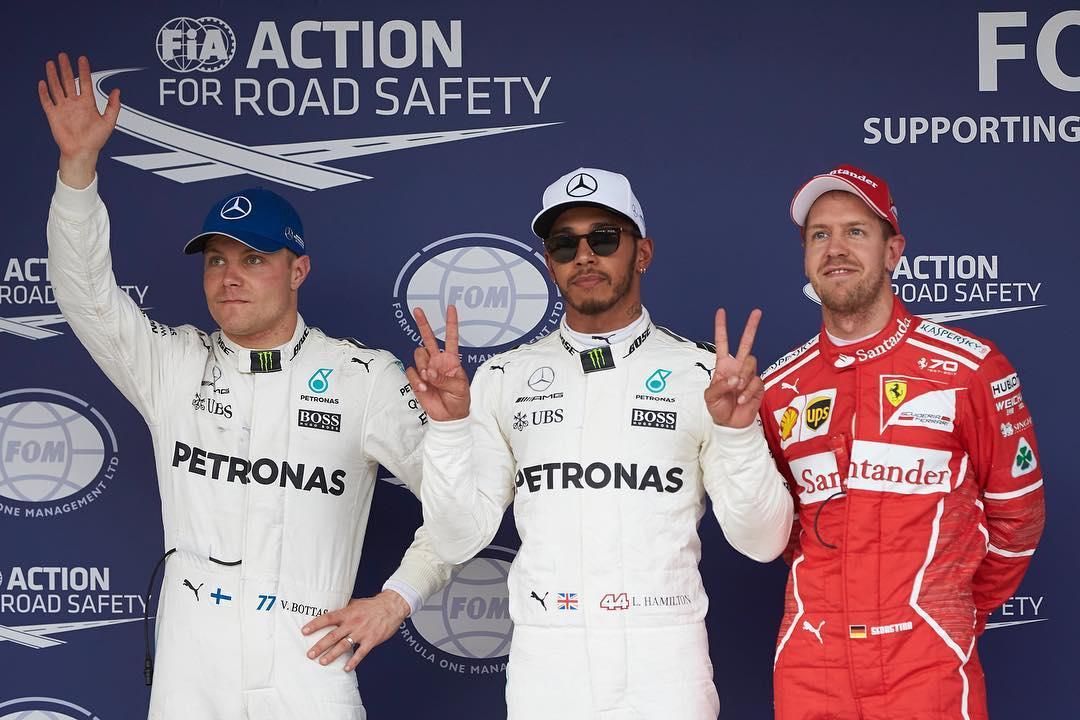 Lewis Hamilton atwaa taji la Mexico Grand Prix