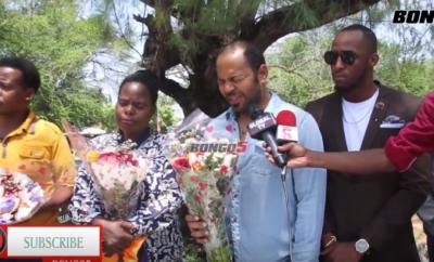 Idris na ishu ya kuonekana kama bodyguard wa Ramsey Nouah (Video)