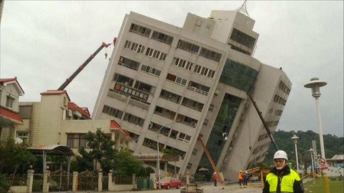 Photo of Picha: Tetemeko la ardhi nchini Taiwan