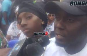 Mzazi mwenza na Masogange anena mazito mbele ya mtoto wao (+video)