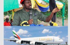 Ndege kubwa ya Emirates yamuibua Waziri Kigwangalla 'Watanzania tumekuwa watu wa hovyo'