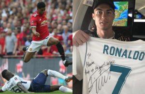 Ronaldo atuma zawadi hii kwa Marcus Rashford