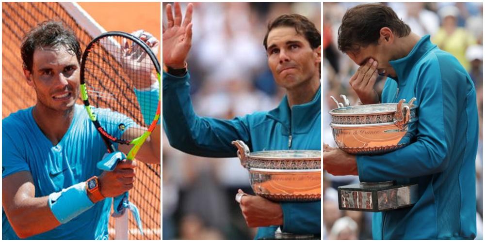 Rafael Nadal atwaa taji la 11 michuano ya French Open