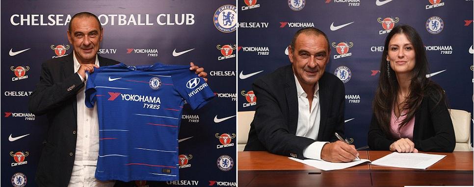 RasmiMaurizio Sarri atambulishwa kuwa kocha mpya wa Chelsea