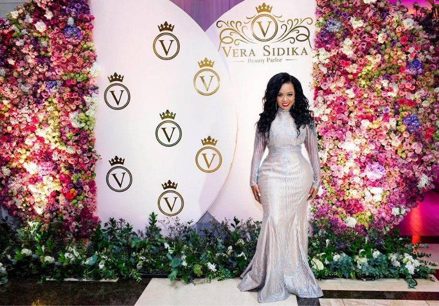Photo of Vera Sidika's exquisite beauty parlor