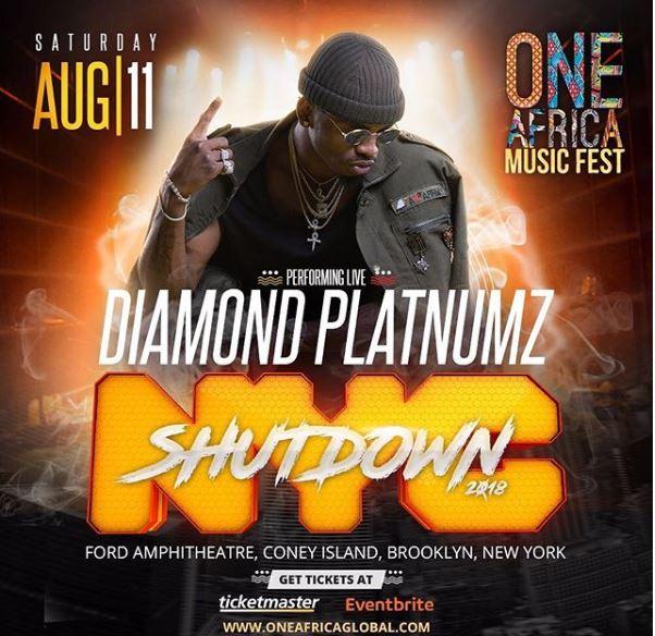 Wizkid na Eddy Kenzo watikisa jukwaa la One Africa Music Festival Marekani, Diamond na Davido waingia mitini (+video)