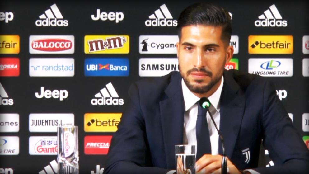 "Kiungo wa Juventus Emre Can amtetea Ronaldo "" Sisi sio Wanawake huu ni mpira"""