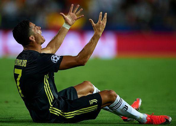 Hii ndio michezo atakayeikosa Ronaldo baada ya kuonyeshwa kadi nyekundu UEFA
