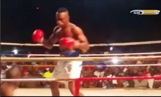 VIDEO: Hassan Mwakinyo hapigiki, amtwanga TKO 'Bondia wa Dar' ndani ya sekunde 10