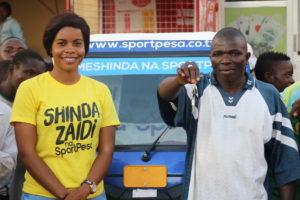 Abdallah Chinumba atoa ushuhuda baada ya kushinda Bajaji 'Nilidhani SportPesa wanaipeleka kwa ndugu zao kumbe ni ya kwangu'