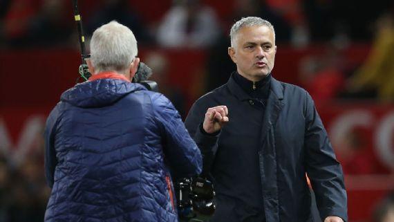 Mourinho atoa majibu kuhusu tuhuma zake za kutoa lugha chafu mbele ya Kamera
