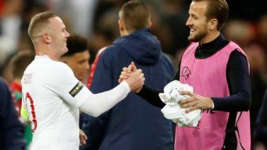 Photo of Rooney amkabidhi mikoba Harry Kane, asema anaamini mchezaji huyo atavunja rekodi yake