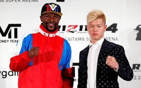 """Photo of """"Pambano la Floyd Mayweather na kickboxer mwenye umri wa miaka 20 bado lipo"""" – Nobuyuki Sakakibara"""