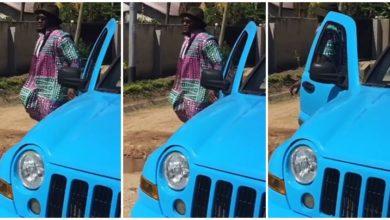 Photo of Video: Hii ndiyo ndinga yaFid Q aina yaJeep