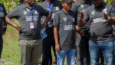 Photo of Wasanii wa BongoMovie wakagua viwanja walivyoahidiwa na KC (Video)