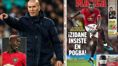 Photo of Zidane na ndoto zake za Pogba ziko pale pale, Chelsea kuvunja rekodi yao ya usajili kwa nyota huyu