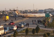 Photo of Ndege ya Iran yaanguka Barabarani ghafla, baadhi ya abiria watokea dirishani(+Video)