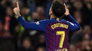 Photo of Coutinho 'In', Aubameyang 'Out' Arsenal