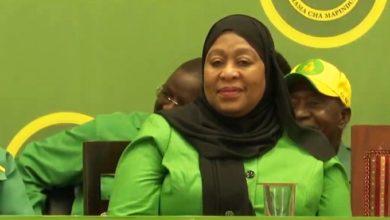 Photo of JPM amemteua Mama Samia kuwa mgombea mwenza kwa awamu nyingine ya pili (+Video)