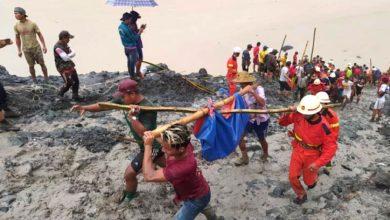 Photo of Zaidi ya wachimba madini 160 wafariki kwa kufunikwa na tope, Myanmar