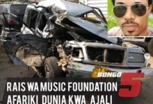 Photo of Rais wa Tanzania Music Foundation afariki dunia kwa ajali ya gari Dodoma