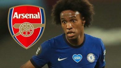 Photo of Willian kutua Arsenal, Aubameyang kumwaga wino