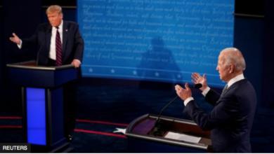 Photo of Huu ndio ulikuwa mdahalo wa kwanza kuelekea uchaguzi Marekani kati ya Trump na Joe Biden