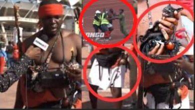 Photo of Dakika 4 za mahojiano na aliyeingia na paka mweusi uwanjani, Platinum ikifa 4 – 0 mbele ya Simba (+Video)