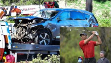 Photo of Tiger Woods alikuwa mwenyewe kwenye gari na amekutwa mzima ila ameumia miguu  (+ Video)